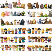 25pcs Fisher-Price Little People Lot & Animals Zoo Talker Figure toy gift Random
