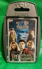 Top TRUMPS Harry Potter Quiz 30 Witches & Wizards Cards Game Wma001649