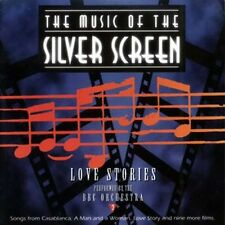 MUSIC OF THE SILVER SCREEN (CD) LOVE STORIES 1995 BCI FILM SCORE/SOUNDTRACKS