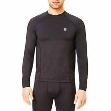 Climatesmart Men's Size Small Black Flexfit Lightweight Base Layer Shirt