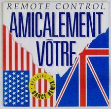Amicalement Vôtre 45 tours Dance remix 1992