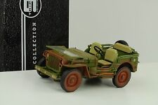 1942 Jeep Willys US Army  rough terrain muddy green 1:18 Tripple9