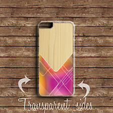 WOOD PRINT NEO PATTERN COLOURFUL PHONE CASE COVER FOR IPHONE SAMSUNG SONY MODELS