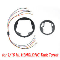 1:16  360 Degree Electric Slip Ring Big & Small Steering Gear for HENGLONG Tank