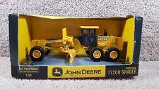 New 2004 ERTL 1:50 Scale Diecast John Deere 772CH Niveleuse Grader Equipment
