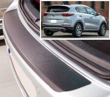 Kia Sportage QL (2017) - Carbon Style rear Bumper Protector