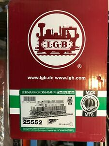 New LGB White Pass & Yukon Alco Diesel Locomotive 25552 W/Sound MTS G-Scale #108
