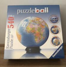 Mundo Puzzleball 540 Pieza 3D Rompecabezas Tierra Globo por Ravensburger NUEVO