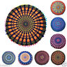 Mandala Print Floor Round Bohemian Throw Sofa Pillow Case Seat Cushions Cover M0