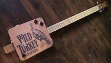 WEEKLYHOUSE CIGAR BOX GUITAR ACOUSTIC ELECTRIC 3 STRING  WATCH A VIDEO DEMO r