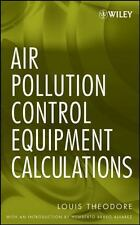 LOUIS THEODORE - Air Pollution Control Equipment Calculations - ** Brand New **