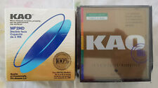 2 x 10pk Kao Double Density 5.25 Floppy Disks MD2-D Sealed Coloured