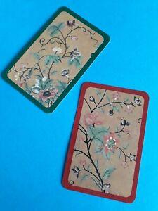 Genuine Vintage,Swap/playing cards,  Caspari,Art