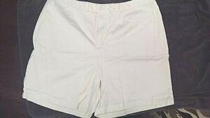Dockers Flat Front Stretch Cotton Short sz 20W Excellent Condition