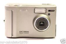 Kodak DC 3800 2.1 MP Digitalkamera-Metallic Silber