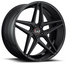 "20"" BLAQUE DIAMOND BD-8 GLOSS BLACK WHEELS FOR FORD MUSTANG GT ECOBOOST"