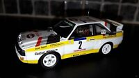 Audi Sport Quattro Walter Rohrl Tour De Corse 1984 Group B Trofeu 1:43rd rallye