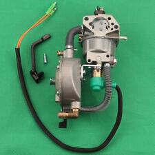 Dual Fuel Generator Carburetor For HONDA GX390 188F 5KW hand choke LPG NG