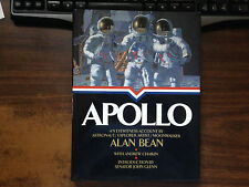 Apollo Signed by Alan Bean 1st Hardcover w/ Dust Jacket 1998