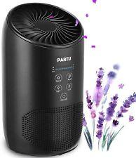 Partu Hepa Air Purifier - Smoke Air Purifiers for Home 100% Ozone Free, Lock Set
