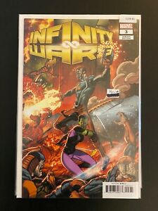 Infinity Wars 3 Variant High Grade Marvel Comic CL59-81