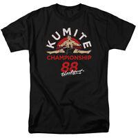 Bloodsport 1988 Kumite Championship Licensed Tee Shirt Adult Sizes S-3XL