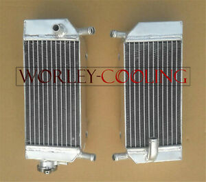 Tusk Aluminum Radiator Set HONDA CRF450R 2009-2012 left right radiators crf450