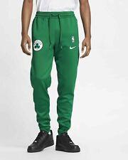 NEW NIKE MEN'S NBA BOSTON CELTICS THERMA FLEX SHOWTIME PANTS AA5209-312