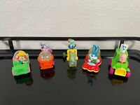 Lot of 5 1992 McDonald's Looney Tunes Tiny Toons Cars Happy Meal Toys