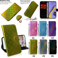 Solid Color Colorful Painted Leather Flip Phone Case For Samsung M30 A71 5G A10E