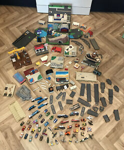 Vintage Joblot Bundle Of Miscellaneous Galoob Micro Machines And Accessories