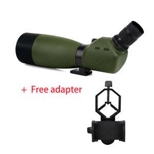 SVBONY SV14 25-75x70 Zoom-Spektiv Wasserdicht 45°abgewinkeltes+Free Adapter