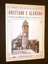 Oristano e Alghero, storia della Sardegna - Cento Città d'Italia illustrate