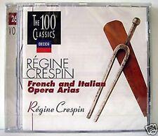 REGINE CRESPIN FRENCH AND ITALIAN OPERA ARIAS / CD