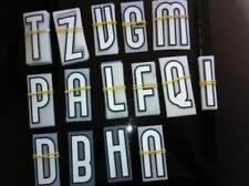 stock + di 120 lettere x kit nomi x maglia shirt calcio inter nike stilscreen