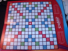 1 SCRABBLE BOARD * GAME PIECES / CRAFTS Vintage Excellent Cond  RED