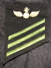 Vintage rare patch insigna grado militare US USN Navy specialist graduated wings