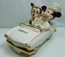 Disney personaje Lenox porcelana con oro 810207 Mickey & Minnie Dream hooneymoon