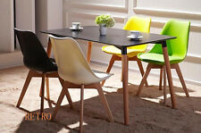 Dining table and 4 tulip chairs retro   Eiffel