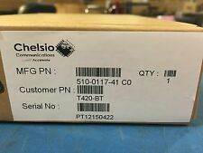 *NEW* Chelsio T420-BT 10GBase-T Ethernet adapter, PCI Exp 2.0 Host Bus Interface