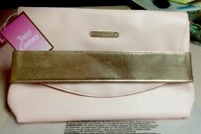 Juicy Couture Hand Strap Clutch Light Pink Purse