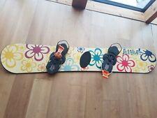 Snowboard Aloha! +Niedecker Bindung gebraucht