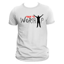 Made to Worship White t-shirt Design
