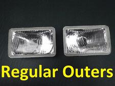 4x6 Regular H4 Hi/Low Beam Outer Lights for Toyota Landcruiser 61 62 80 series