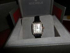 Ladies Michelle Watch, Genuine Alligator Strap, Sapphire Crystal, Deco