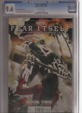 FEAR ITSELF #2 CGC 9.6 IMMONEN VARIANT COVER
