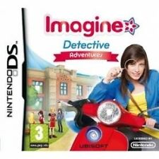 Imagine: Detective Adventures (Nintendo DS, 2009) 01-20 #BEB