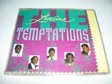 TEMPTATIONS - LOVELINE * VERY RARE 3 track MOTOWN CD MAXI GERMANY 1989