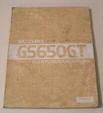 Werkstatthandbuch Suzuki GS 650 GT - Stand 1981!