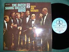 THE DUTCH SWING COLLEGE BAND meets JOE VENUTI - LP French issue 1973 - NM